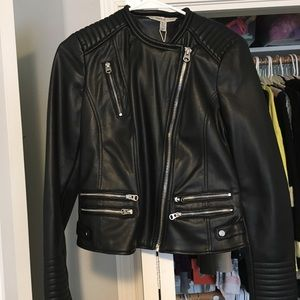Zara Trafaluc Leather Jacket